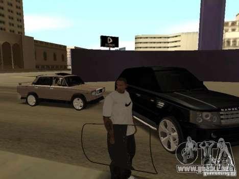 Escudo de armadura de Call of Duty Modern Warfar para GTA San Andreas tercera pantalla