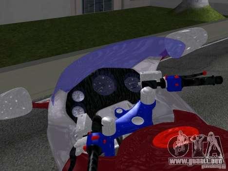 Honda CBR1100XX para la visión correcta GTA San Andreas