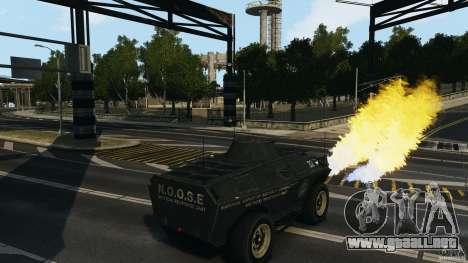 Tank Mod para GTA 4 tercera pantalla