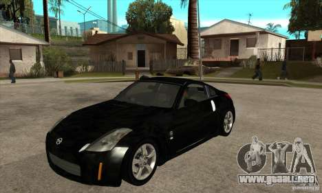 Nissan 350z Stock - Tunable para GTA San Andreas left