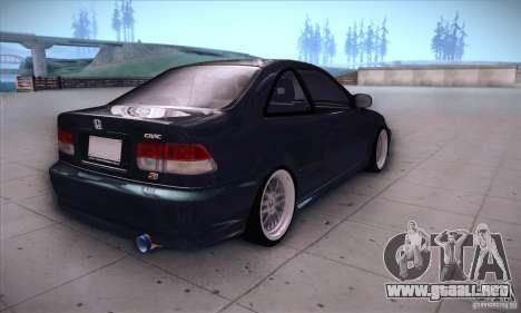 Honda Civic 6Gen para la visión correcta GTA San Andreas