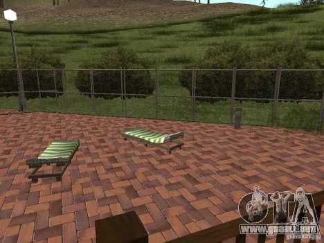 Nueva villa de CJ para GTA San Andreas sexta pantalla