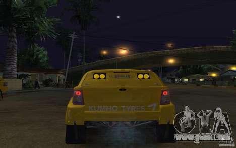 Bowler Nemesis para GTA San Andreas vista posterior izquierda