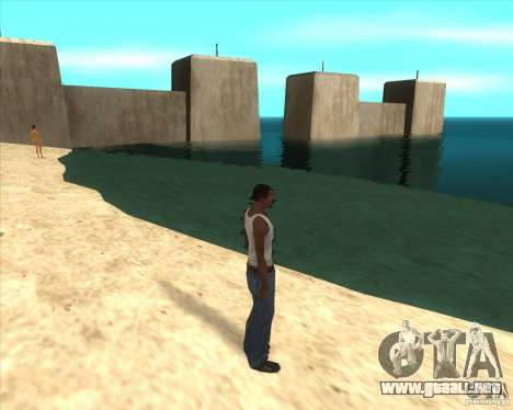 MOD de Jyrki para GTA San Andreas sexta pantalla