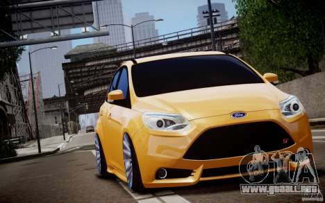 Ford Focus ST Mk.III 2013 para GTA 4 vista lateral