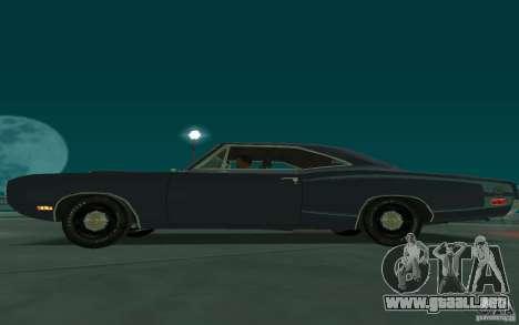 Dodge Coronet Super Bee 1970 para la visión correcta GTA San Andreas