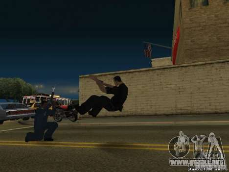 El efecto del tiro cerca para GTA San Andreas segunda pantalla