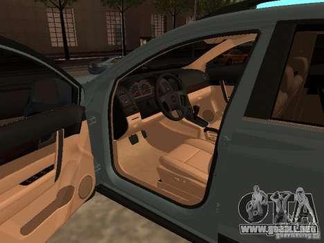 Chevrolet Captiva para GTA San Andreas vista posterior izquierda