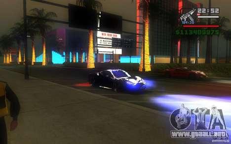 ENBSeries by Gasilovo v2 para GTA San Andreas sexta pantalla
