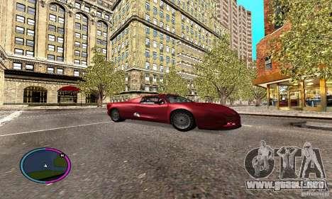 Axis Piranha Version II para GTA San Andreas vista hacia atrás