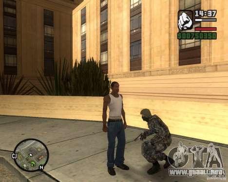 POLICÍA antidisturbios rusa para GTA San Andreas segunda pantalla