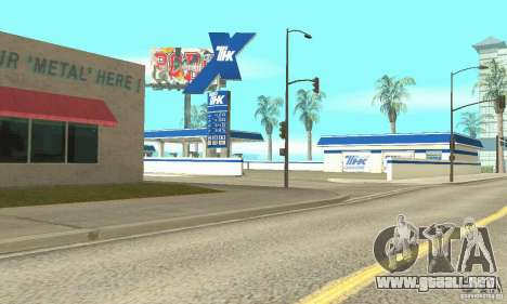 Estación de llenado de TNK para GTA San Andreas