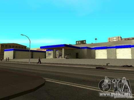 Garaje en San Fierro para GTA San Andreas segunda pantalla