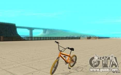 Zeros BMX YELLOW tires para GTA San Andreas