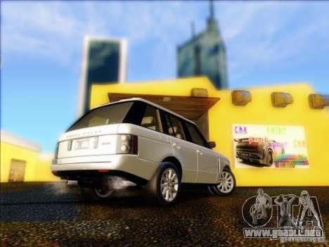 Land-Rover Range Rover Supercharged Series III para la visión correcta GTA San Andreas
