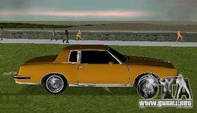 Pontiac Grand Prix para GTA Vice City left