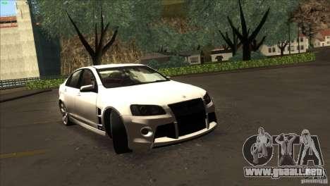 Holden HSV W427 para la visión correcta GTA San Andreas
