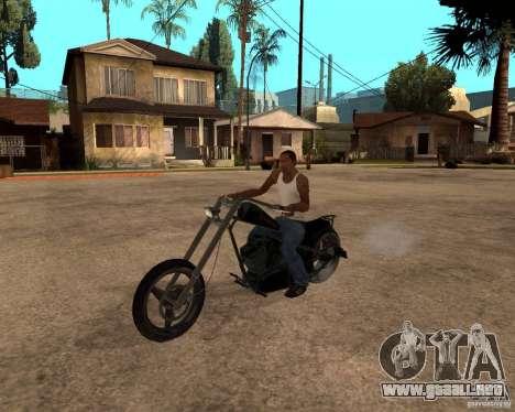 Diabolus Bike para GTA San Andreas left