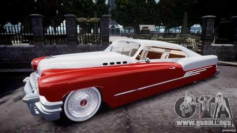 Buick Custom Copperhead 1950 para GTA 4 left