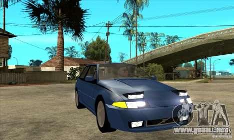 Volvo 480 Turbo para GTA San Andreas vista hacia atrás