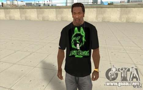 Hoyo bill t-shirt para GTA San Andreas
