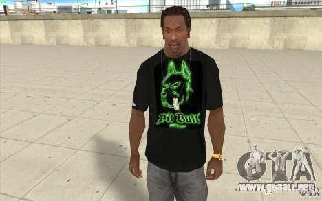 Hoyo bill t-shirt para GTA San Andreas