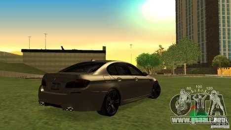 Velocímetro de Lada 2110 para GTA San Andreas tercera pantalla