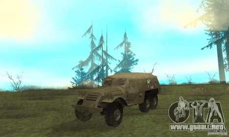 BTR-152 para GTA San Andreas left