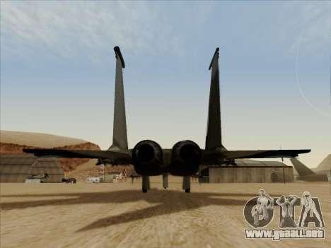F-15C para la visión correcta GTA San Andreas
