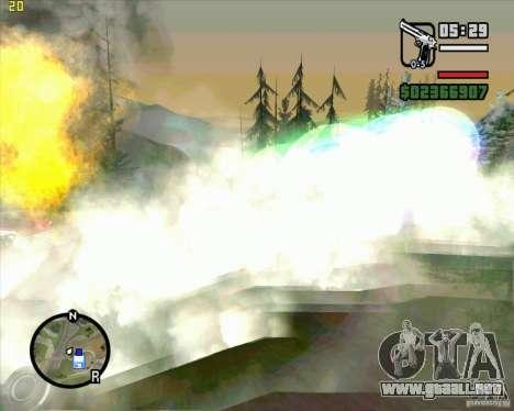 Masterspark para GTA San Andreas tercera pantalla