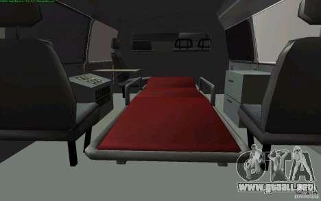 Ambulancia gacela 22172 para la visión correcta GTA San Andreas