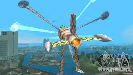 Conceptual Fighter Plane para GTA Vice City vista interior