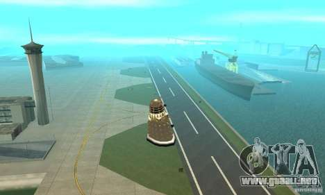 Dalek Doctor Who para visión interna GTA San Andreas