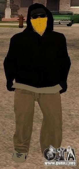 Nuevos aspectos banda Vagos para GTA San Andreas tercera pantalla