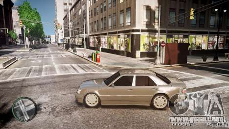 Mercedes Benz W124 E500 para GTA 4 left