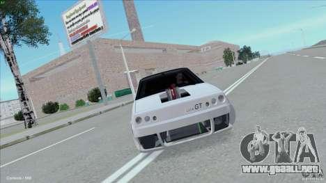 ВАЗ 2108 Sport para GTA San Andreas vista posterior izquierda