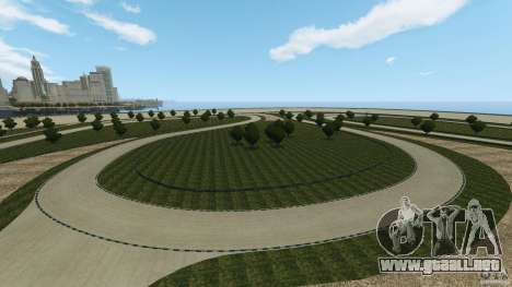 Dakota Raceway [HD] Retexture para GTA 4 décima de pantalla