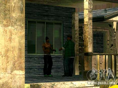 Amigos de CJ en el Grove para GTA San Andreas tercera pantalla