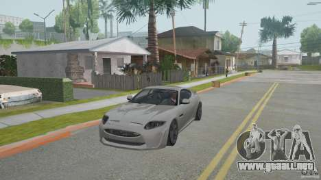 Jaguar XKR-S para GTA San Andreas left