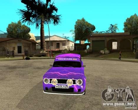 Puerta doble VAZ 2101 para GTA San Andreas