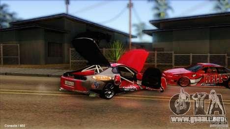 Toyota Supra HELL para la visión correcta GTA San Andreas