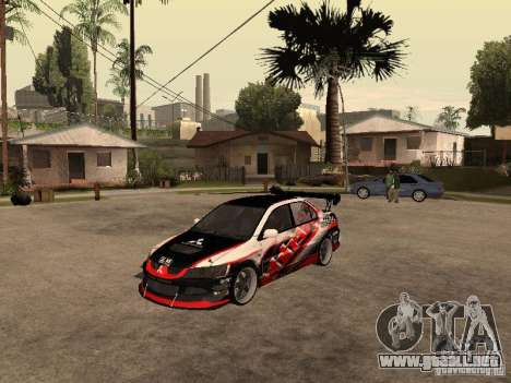Mitsubishi Lancer Evolution 8 GReddy para GTA San Andreas