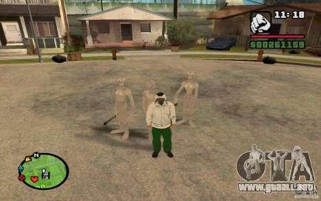 Recién llegados de GROVE para GTA San Andreas segunda pantalla