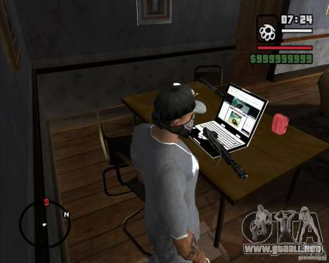 From Left 4 Dead beta v0.2 para GTA San Andreas tercera pantalla