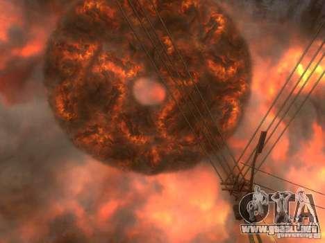 Atomic Bomb para GTA San Andreas tercera pantalla