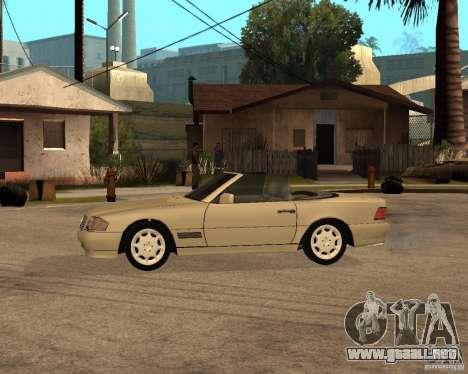 Mercedes-Benz 500SL para GTA San Andreas left