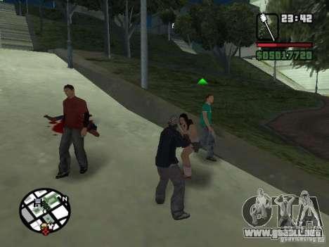 Escobilla de baño para GTA San Andreas tercera pantalla
