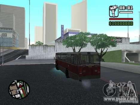 DAF CSA 1 City Bus para visión interna GTA San Andreas