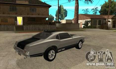 Sable de GTA 4 para la visión correcta GTA San Andreas