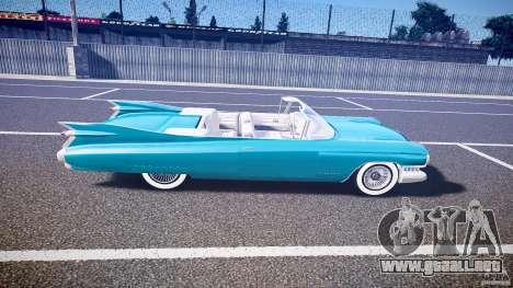 Cadillac Eldorado 1959 interior white para GTA 4 vista lateral